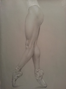 Michael Griffin silverpoint study2