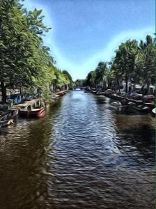 One of the many canals. Photo credit Sabrina Widner.