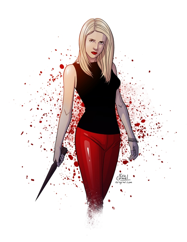 Web- Buffy the Vampire Slayer Print - Eric Gravel (1).jpg