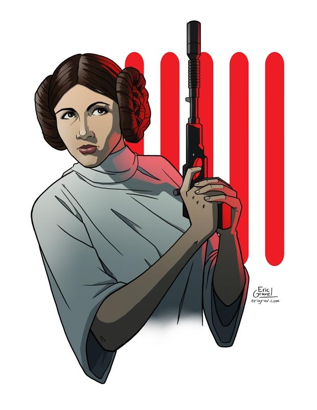 Web- Star Wars Print- Leia - Eric Gravel (1).jpg